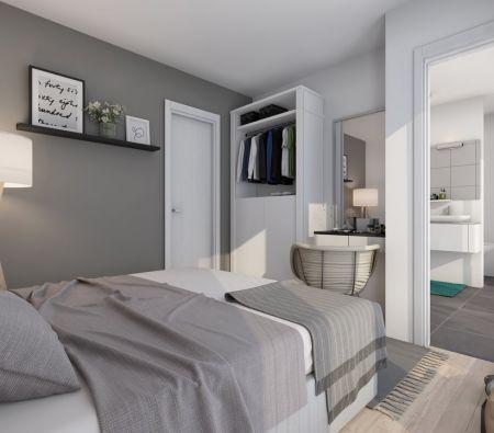 Schlafzimmer (en Suite-Bad)