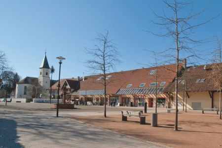 charmanter Gutshofplatz
