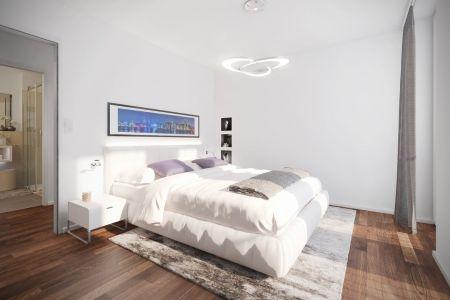 geräumige Schlafzimmer